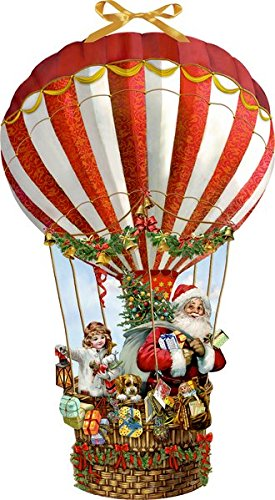 Wandkalender - Weihnachtsballon Kalender – 14. September 2018 Barbara Behr Coppenrath B077Y3VWB1 Advent / Geschenkband