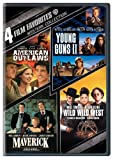 4 Film Favorites: Westerns (American Outlaws, Maverick, Wild Wild West, Young Guns 2)