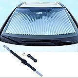 MagiqueW Car Windshield Sun Shade,Retractable Car Sun Shade for...