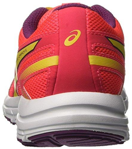 Asics Gel-Zaraca 5 Gs, Zapatillas de Deporte Unisex Niños Rosa (Diva Pink/sun/dark Purple)