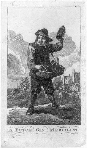 Infinite Photographs Photo: Dutch gin merchant,peddlers,vendors,commerce,alcohol,beverages,basket,1800's - Dutch Gin