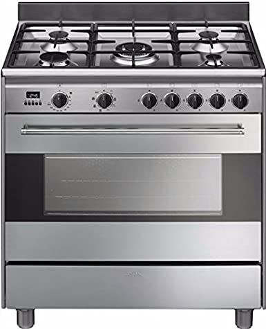 Smeg BG91X9 - Cocina (Cocina independiente, Acero inoxidable ...