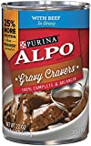 Purina ALPO Brand Dog Food Gravy Cravers With Beef In Gravy Wet Dog Food, 22-Ounce Can, Pack of 12