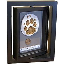 Makin's Clay Memorial Frame Pet Dog Cat Paw Print Imprint Impression Kit