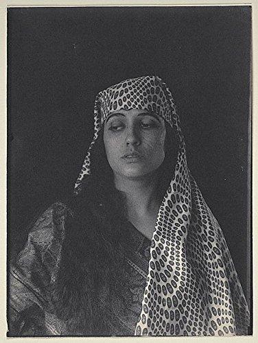 (HistoricalFindings Photo: Julia Arthur,Middle Eastern Costume,Salome,Biblical,Religion,1895,F. Holland Day)