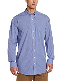 Men's Big-Tall Long Sleeve Epic Easy Care Gingham Shirt