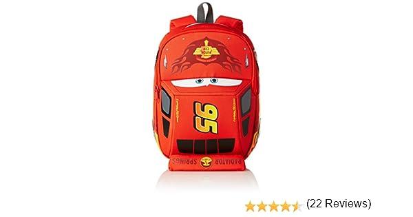 Disney Ultimate S Cars Mochila Infantil, 6.5 litros, Color Rojo