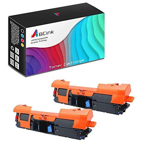 ABCink C9700A 121A Toner Compatible for HP Laserjet C9700A C9701A C9702A C9703A C9704A Printer Toner Cartridge,5000 Yields(2 Pack,Black)