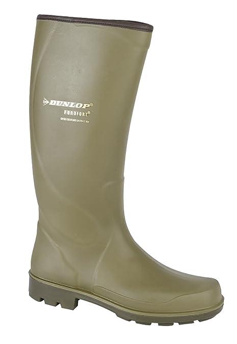 nuova collezione 83784 43ea9 Dunlop Purofort Terroir Unisex Non-Safety Stivali Verde ...