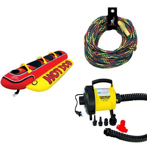 Price comparison product image Airhead Hot Dog Rope and Pump Bundle