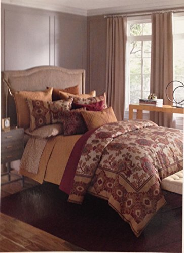 bloomingdales-1872-harlow-100-cotton-quilted-standard-pillowsham-gold