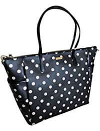 shore street adaira baby diaper bag Polka Dot Black