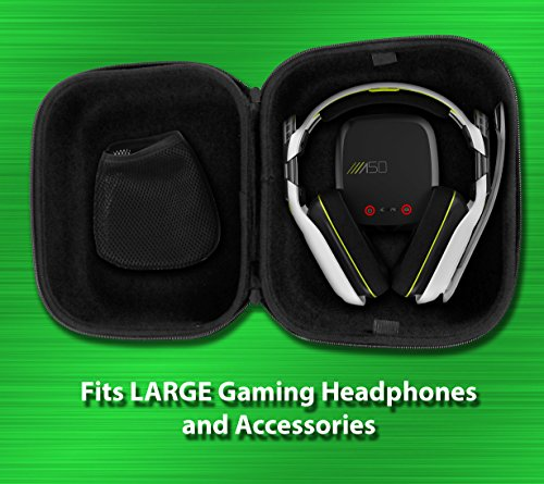 Casematix Gaming Headset Travel Case Bag Compatible with Astro A50 , A40 tr and Microphone with Wire - coolthings.us