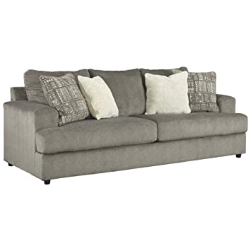 Signature Design by Ashley - Soletren Queen Sofa Sleeper, Ash