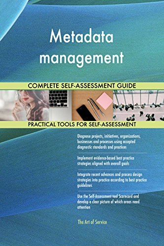 Metadata management Toolkit: best-practice templates, step-by-step work plans and maturity diagnostics