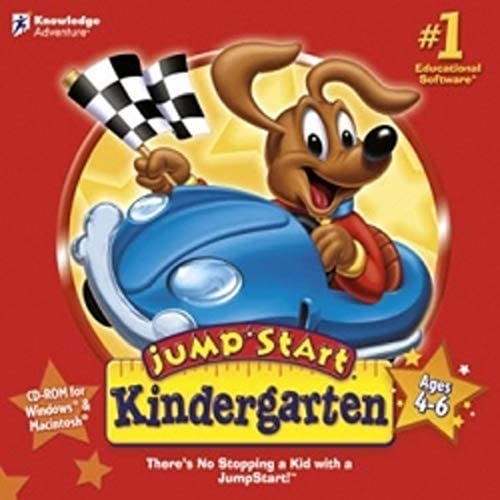 PC JumpStart Advanced Kindergarten Ages 4-6 CD-ROM