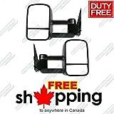1999-2007 Chevy/GMC Silverado/Sierra Manual & Telescoping Towing Mirror Pair