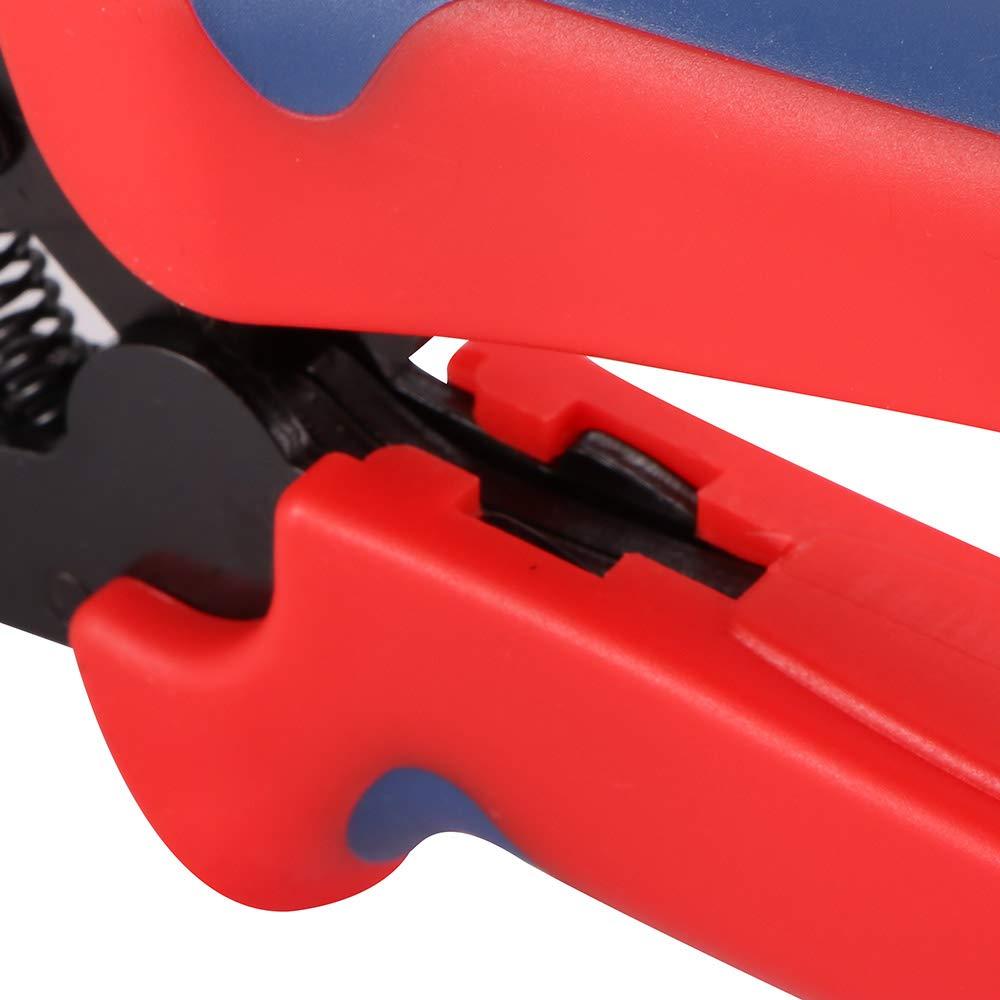 Terminales el/éctricos Lemonbest Engarzadora para cable PV de panel solar de 2.5-6.0mm/² Without Terminal Crimp Connector Herramienta engarzadora