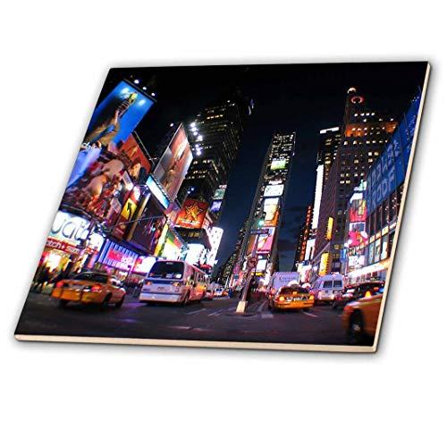 3dRose ct_101408_2 I Love New York Ceramic Tile, 6-Inch