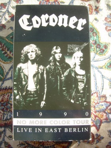 Coroner - 1990 No More Color Tour Live in East Berlin [VHS]