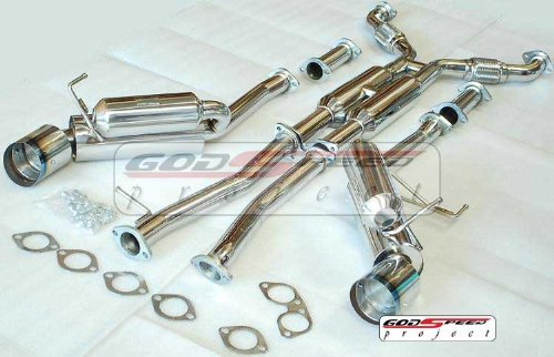 Infiniti G35 2002 2003 2004 2005 2006 2007 2008 G35 Coupe Dual Catback Exhaust (2dr Only) ()