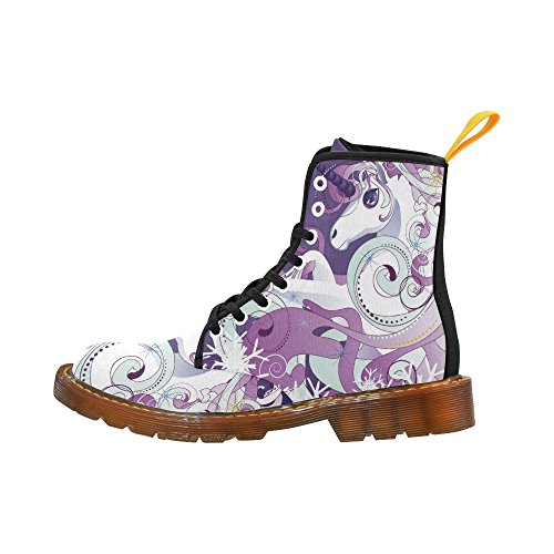 D-story Shoes Firefighters Lace Up Martin Boots Per Uomo Multicolore4