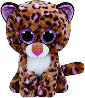 Ty - Beanie Boos Patches, Leopardo, 23 cm, Color marrón (United Labels