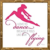 14x14 Dance II by Young, Patty: Gold Bamboo YNG-121