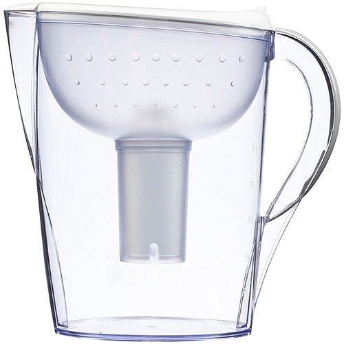 Brita Pacifica 10 Cup Water Filter Pitcher (White) 35741