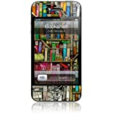 """GelaSkins Protective Skin for the iPhone 4 """"Bookshelf"""" with Access to Matching Digital Wallpaper Downloads"""