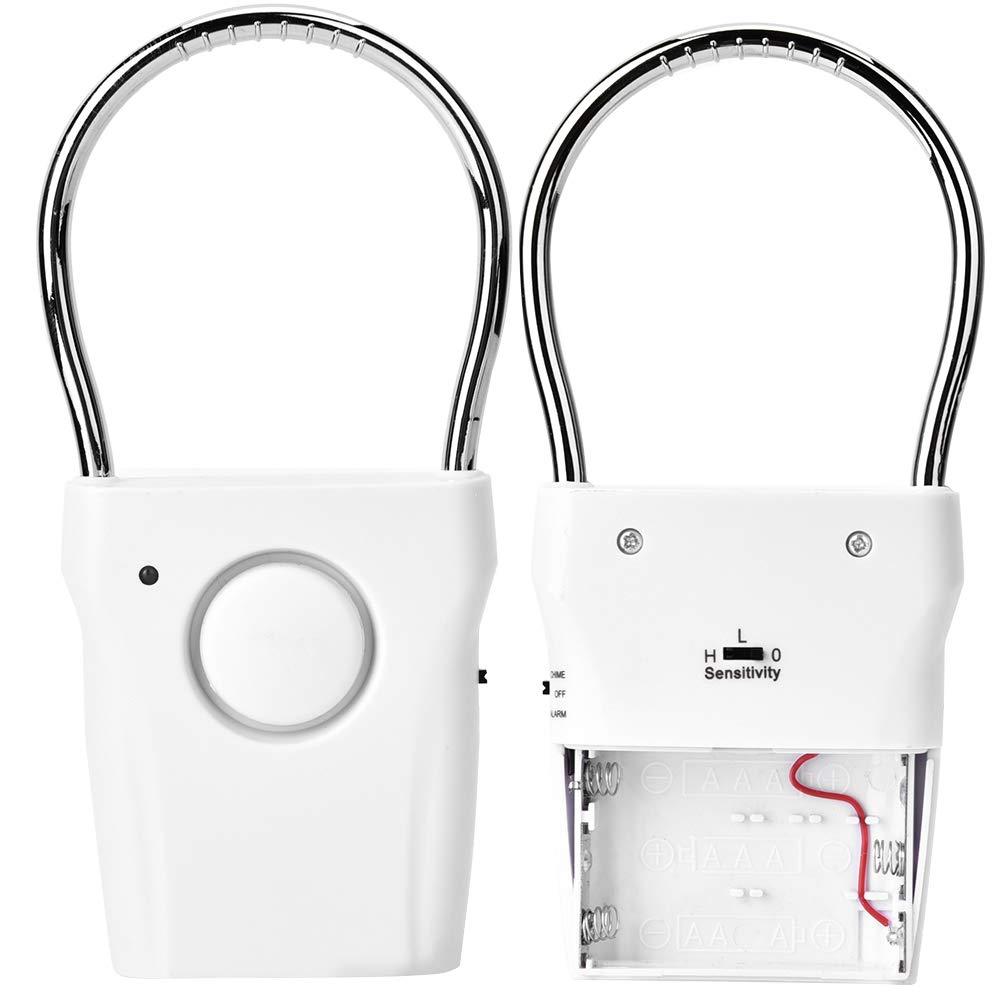 Alarma de manija de Puerta con Sensor t/áctil Alarma antirrobo de Puerta con vibraci/ón Sensor de Ventana para Seguridad del hogar Suchinm Alarma antirrobo