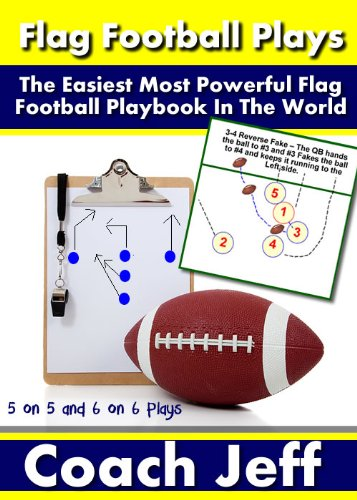 Flag Football Plays - The Easiest Most Powerful Flag Football Playbook In The - Football Coaching Flag