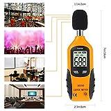 Cadrim Decibel Meter - Digital Sound Level