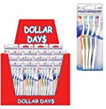 Toothbrushes 4Pk 224 pcs sku# 1255105MA