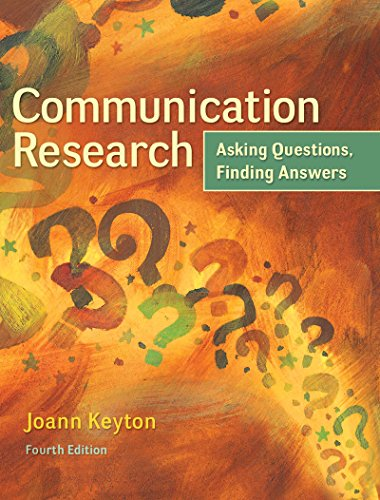 Download Communication Research: Asking Questions, Finding Answers Pdf
