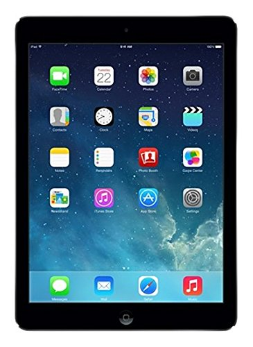 Apple iPad Air MD785LL/B (16GB, Wi-FI, Black with Space Gray) by Apple