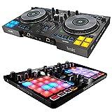 Hercules DJControl Jogvision USB DJ controller w/ HERCULES P32 USB Midi Controller