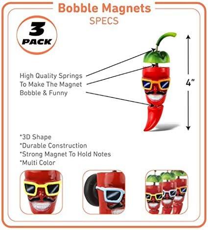 Louisiana souvenir Chili Pepper Refrigerator Magnet Lafayette