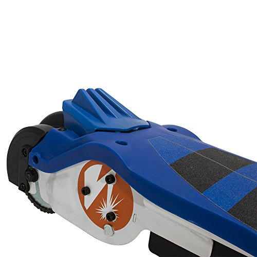Pulse Performance Products GRT-11 Electric Scooter - 12 Volt Battery-Powered Scooter for Kids - Blue