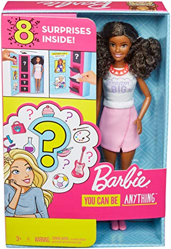 Barbie Surprise Careers with Doll and Accessories, Brunette