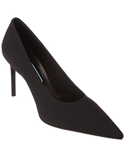 5d5d6af216 Image Unavailable. Image not available for. Color: Prada Technical Fabric  Pointy-Toe Pump, 38.5, Black