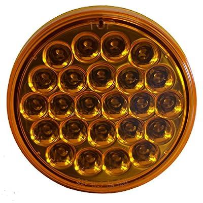 "Kaper II L03-0086A Amber 4"" Strobe LED Light: Automotive"