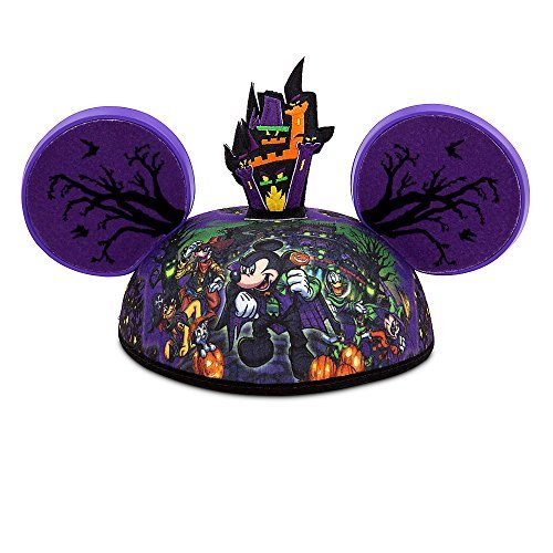 [Disney Parks Mickey Mouse Ear Hat - The Haunted Mansion] (Disneyland Haunted Mansion Costume)