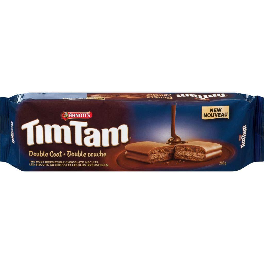 Arnotts Tim Tam Double Coat, 200 grams