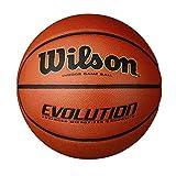 "Evolution Game Basketball, Black, Official Size - 29.5"""
