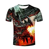 monster energy clothing 3xl - Jiacool Creative 3D T Shirt Monster Energy Printed Graphic Casual Men Tees Top Short Sleeve 3XL