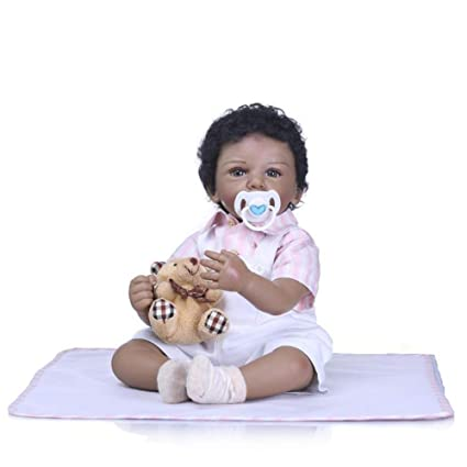 IIWOJ Muñeca de bebé Reborn Encantadora, 21,65 Pulgadas muñeca ...