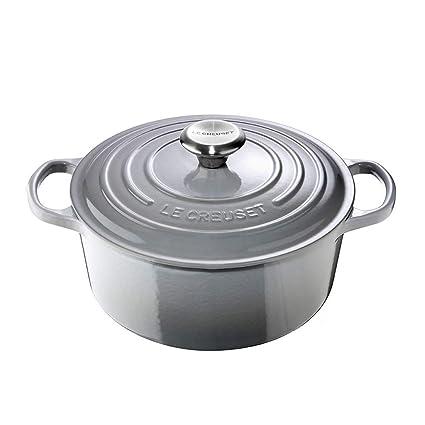 Le Creuset Round casserolle diam.20 cm Mist grey
