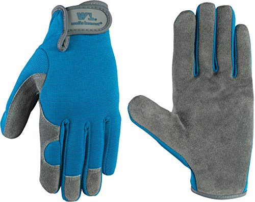 Wells Lamont Work Gloves, Women's, Suede Cowhide, Small (1049S)