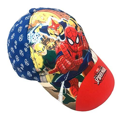 Age 2-4 Age 4-8 Boys Kids Official Various Superhero Character Spiderman Power Ranger Baseball Caps Summer Hat Size 52cms 54cms